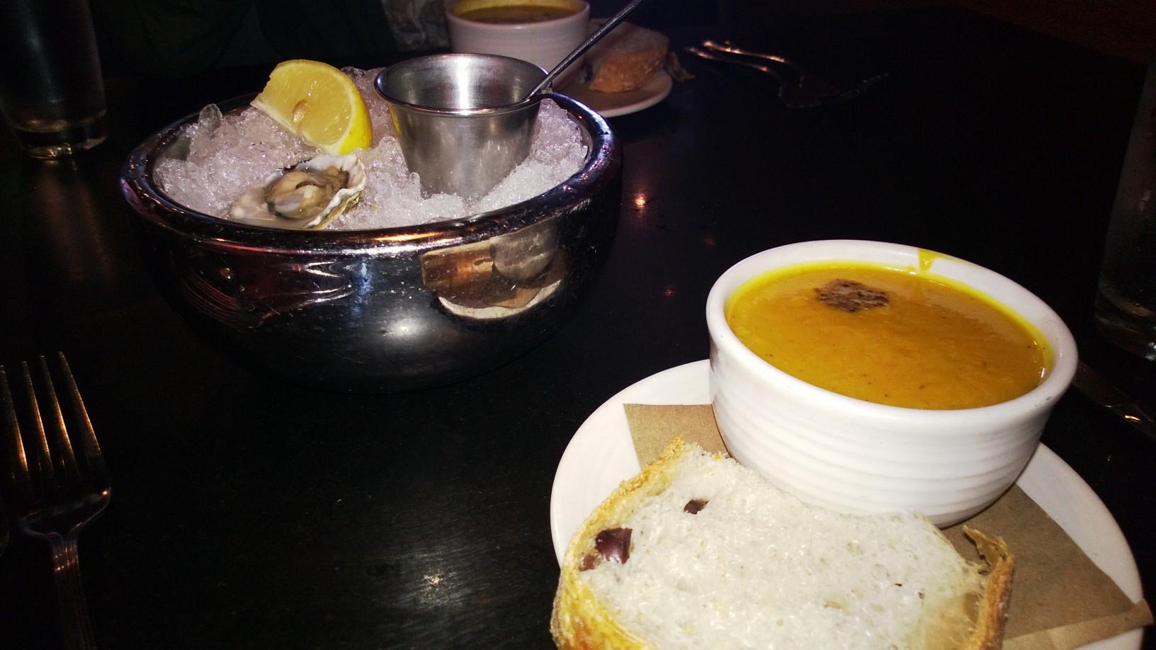 Squash soup at Etta´s