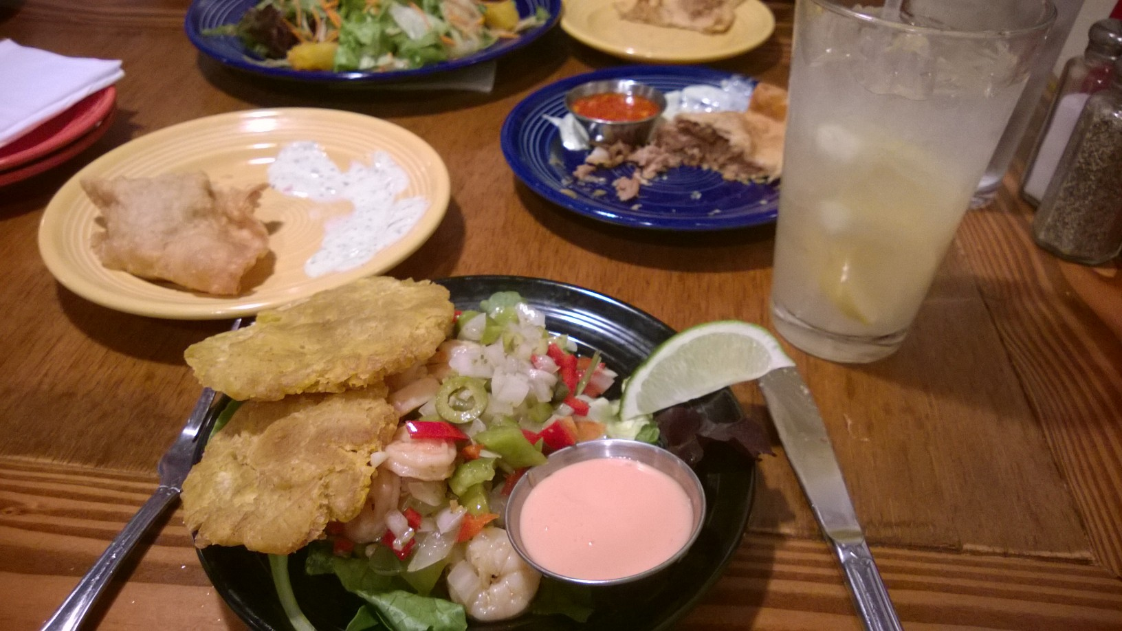 comida en La Isla